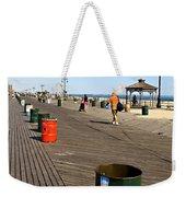 On The Coney Island Boardwalk Weekender Tote Bag