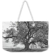 On The Delta Monochrome Weekender Tote Bag