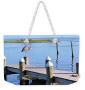 On The Dock Of The Bay Weekender Tote Bag