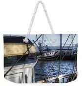 On The Docks In Provincetown Weekender Tote Bag