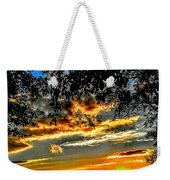 On The Edge Of Night Weekender Tote Bag