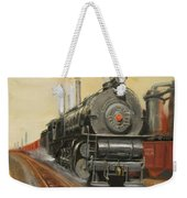 On The Great Steel Road Weekender Tote Bag