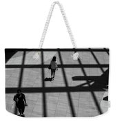 On The Grid Weekender Tote Bag by Eric Lake