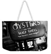 On The Half Shell - Bw Weekender Tote Bag