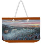 On The Hill At Greyfox Weekender Tote Bag