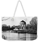 On The Lake At Fdr Park Weekender Tote Bag