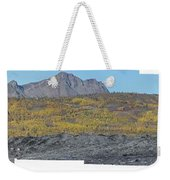 On The Matanuska Glacier Weekender Tote Bag