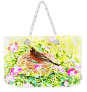On The Nest Weekender Tote Bag