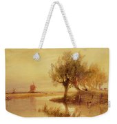 On The Norfolk Broads Weekender Tote Bag