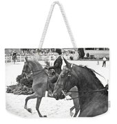 On The Outside Charcoal Weekender Tote Bag