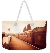 On The Platform Weekender Tote Bag