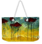 On The Pond By Madart Weekender Tote Bag