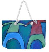 On The Precipice Weekender Tote Bag