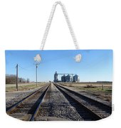 On The Right Tracks Weekender Tote Bag