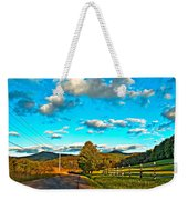 On The Road In Wv Weekender Tote Bag