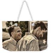On The Road-mitt Romney Weekender Tote Bag