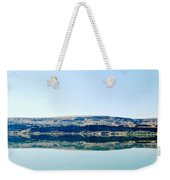 On The Road To Electric City Weekender Tote Bag