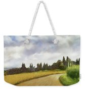 On The Road To Siena Weekender Tote Bag