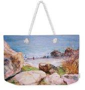 On The Shore Of The Ocean Weekender Tote Bag