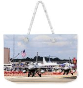 On The Taxiway Weekender Tote Bag