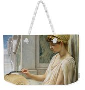 On The Terrace Weekender Tote Bag