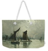 On The Thames Weekender Tote Bag