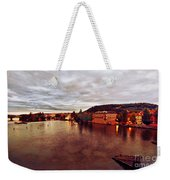 On The Vltava River Weekender Tote Bag
