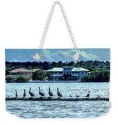 On The Water Weekender Tote Bag