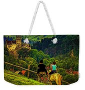 On The Way To Bran Castle Weekender Tote Bag