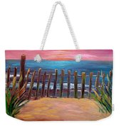 On The Way To Cape May Weekender Tote Bag