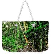 On The Way To Lava Tree Aloha Weekender Tote Bag