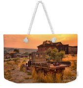 On The Way To Town Weekender Tote Bag