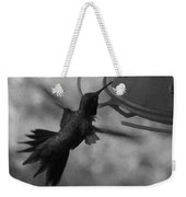 On The Wings Of A Hummingbird Weekender Tote Bag