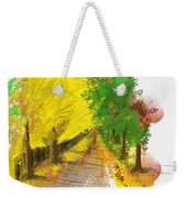 On The Yellow Road Weekender Tote Bag