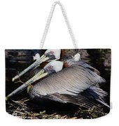 On Their Nest Weekender Tote Bag