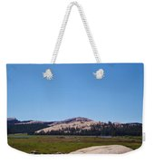 On Top Of The Mountain Valley Weekender Tote Bag
