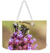 On Top Of The World - Bee Style Weekender Tote Bag