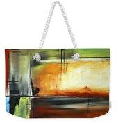 On Track Original Madart Painting Weekender Tote Bag