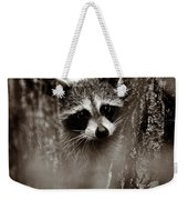 On Watch - Sepia Weekender Tote Bag