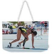 On Your Mark  Weekender Tote Bag