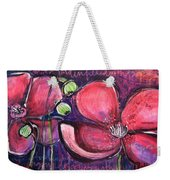 Once I Was In A Garden Filled With Poppies Weekender Tote Bag