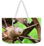 Once Upon A Wheel Weekender Tote Bag