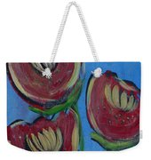 Once Upon A Yoga Mat Poppies 2 Weekender Tote Bag
