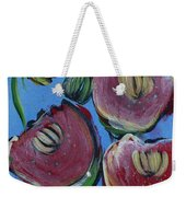 Once Upon A Yoga Mat Poppies 3 Weekender Tote Bag
