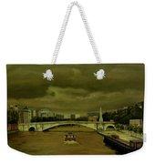 Oncoming Storm Paris France Weekender Tote Bag