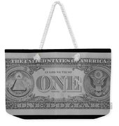 One Back Weekender Tote Bag
