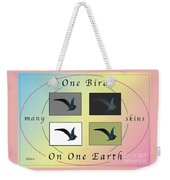 One Bird Poster And Greeting Card V1 Weekender Tote Bag