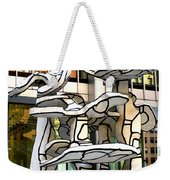 One Chase Manhattan Plaza 1 Weekender Tote Bag