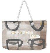 One Cup At A Time- Art By Linda Woods Weekender Tote Bag