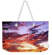 One Dawn Autumn Sky Weekender Tote Bag